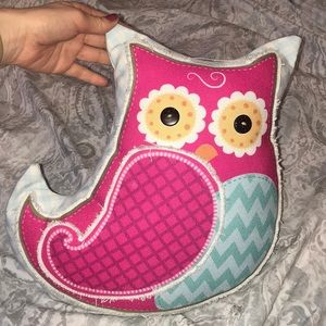 Accessories - Rustic Owl Pillow